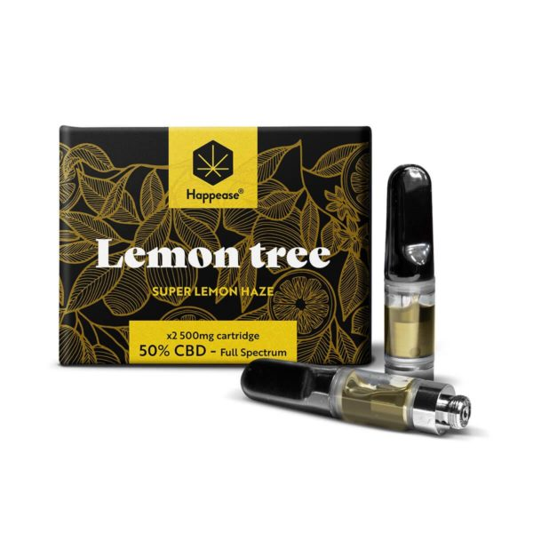 Cartouches CBD Lemon Tree