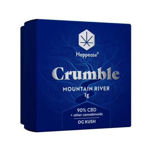 Crumble CBD Mountain River de Happease