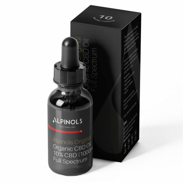 Huile CBD full-spectrum 10% Alpinols