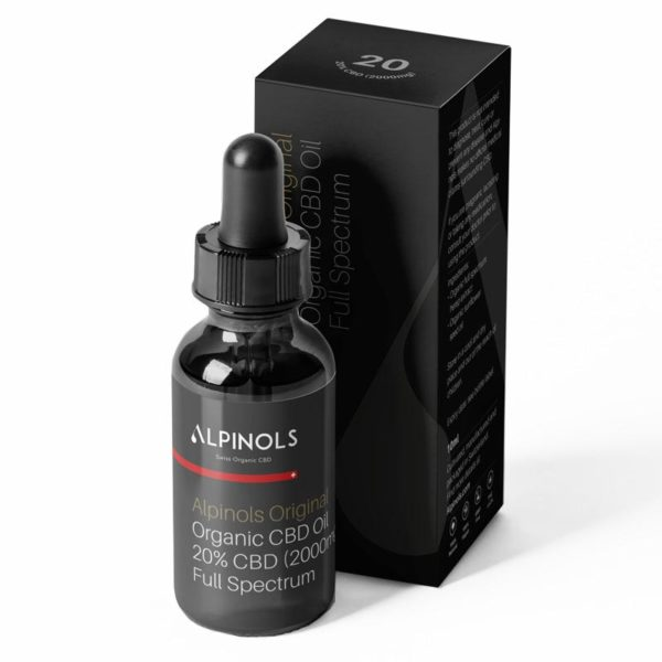 Huile CBD full-spectrum 20% Alpinols