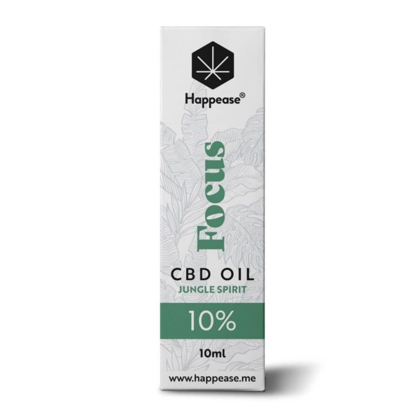 Huile CBD 10% Focus Happease