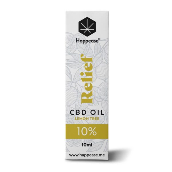 Huile CBD 10% Relief Happease
