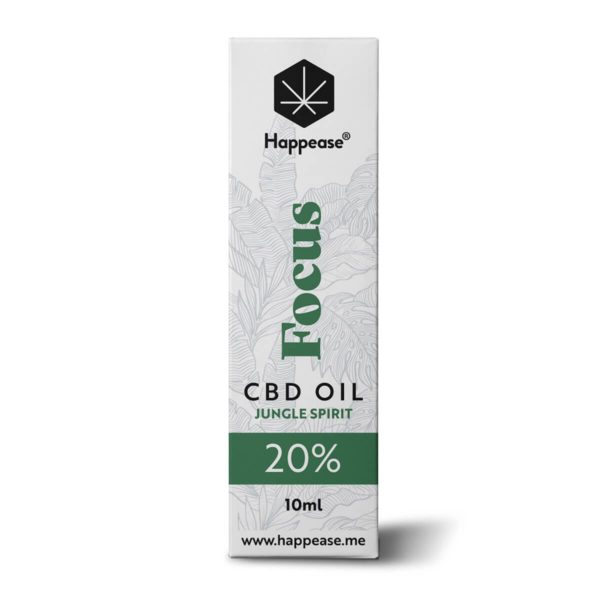 Huile CBD 20% Focus Happease