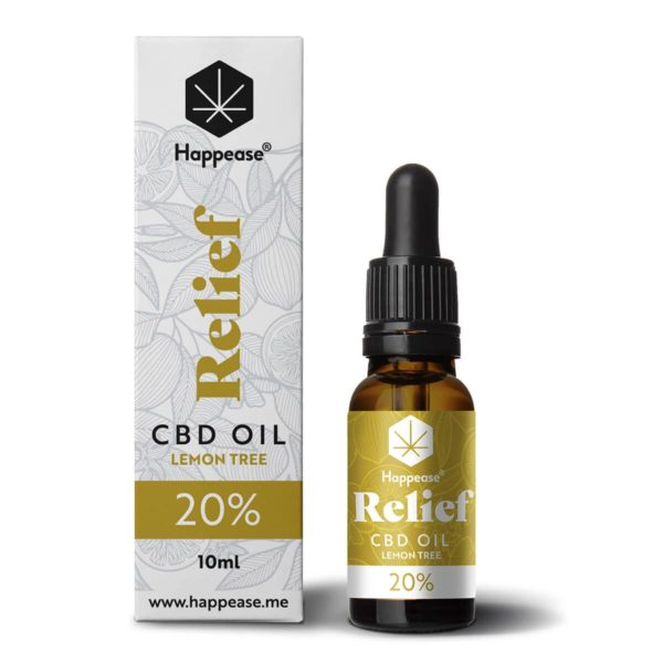 Huile CBD 20% Relief Happease