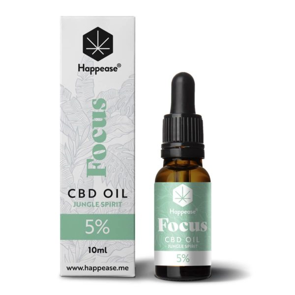 Huile CBD 5% Focus Happease