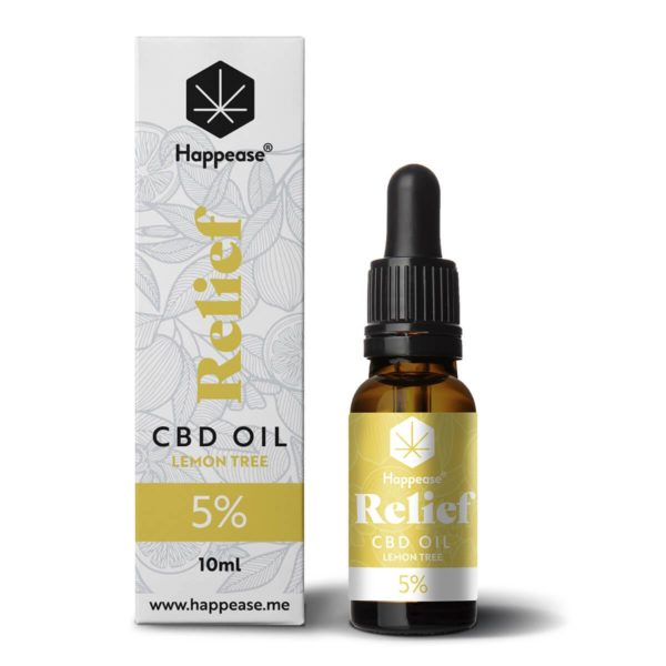 Huile CBD 5% Relief Happease