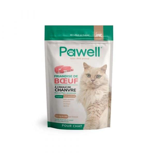 Friandises CBD pour chat Pawell