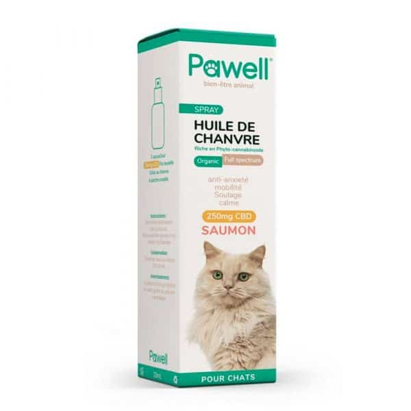 Spray CBD pour chat