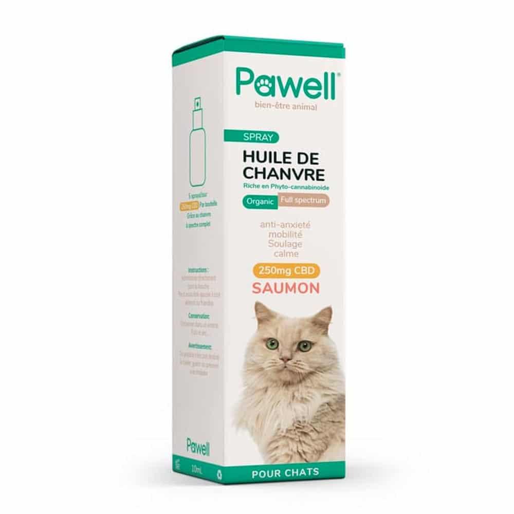 Spray CBD pour chat