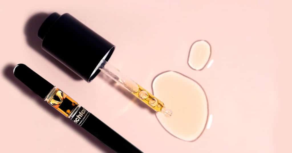 Vape pen CBD vs. huile CBD