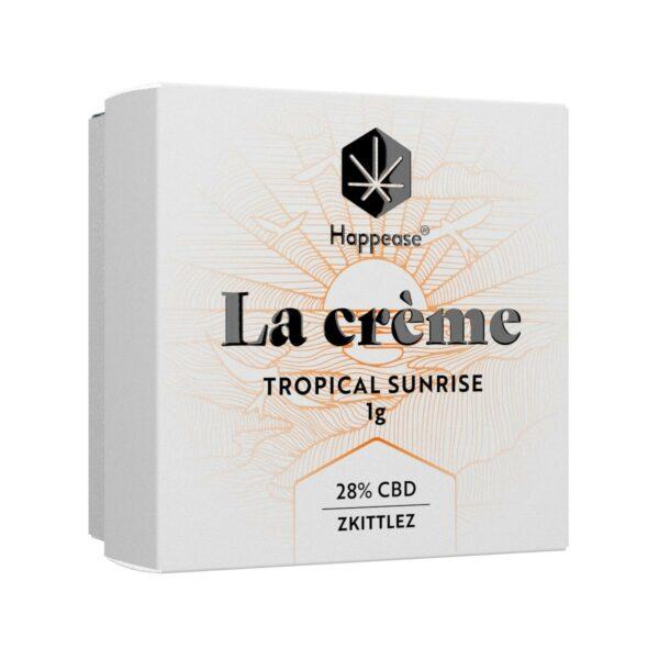 La Crème CBD tropical Sunrise